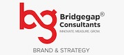 Bridgegap Consultants offers best brand management services & strategies. We are amongst the leading brand management companies in India, enabling your brand to perform across every channel. Logo